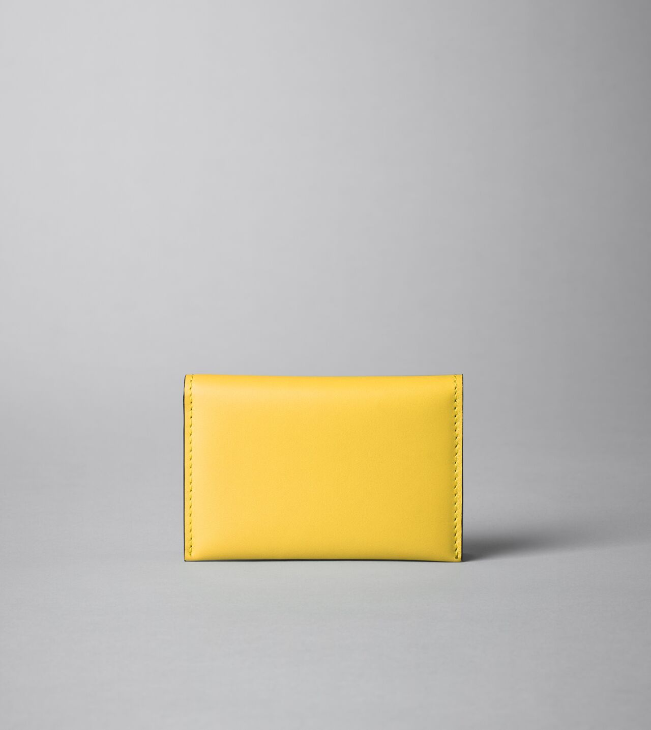 Picture of Byredo Business card holder in Yellow leather