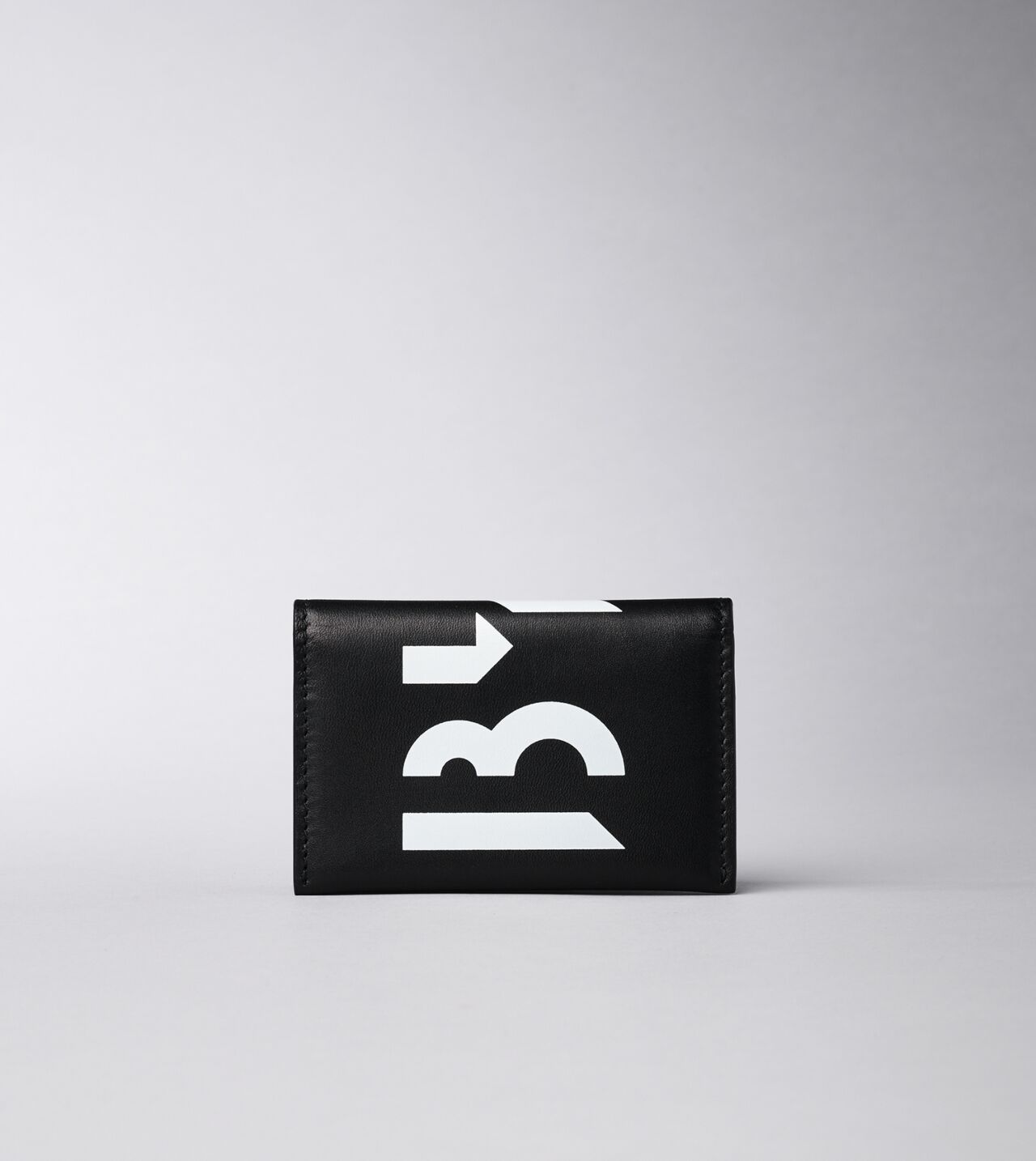 Picture of Byredo Business card holder in Black printed leather