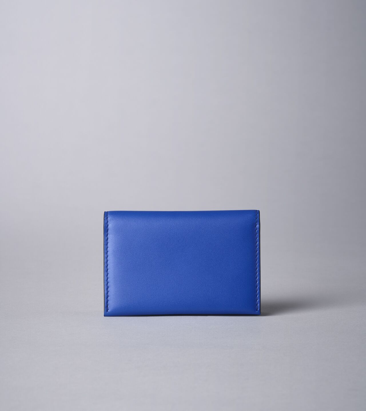 Picture of Byredo Business card holder in Blue leather