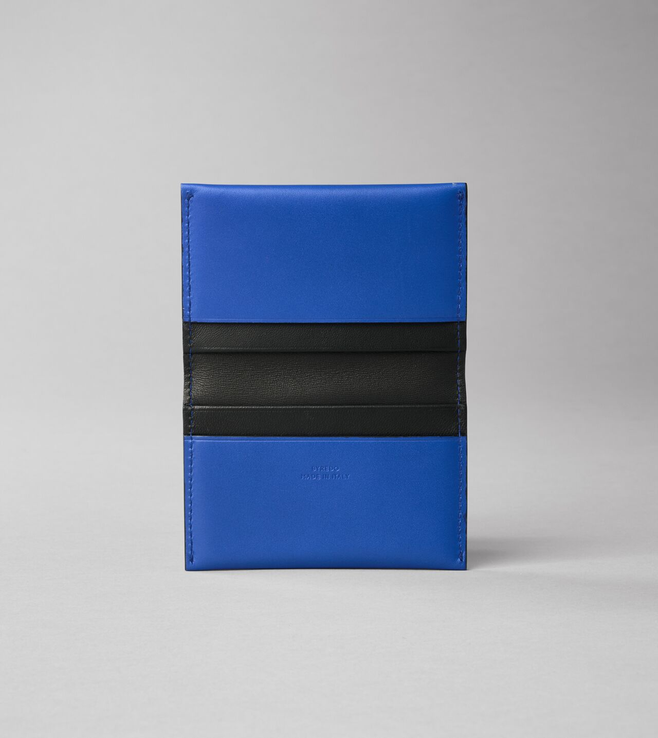Beige - . Cowhide Leather Credit Card Holder Loyalty Business Women//Men cream Blue