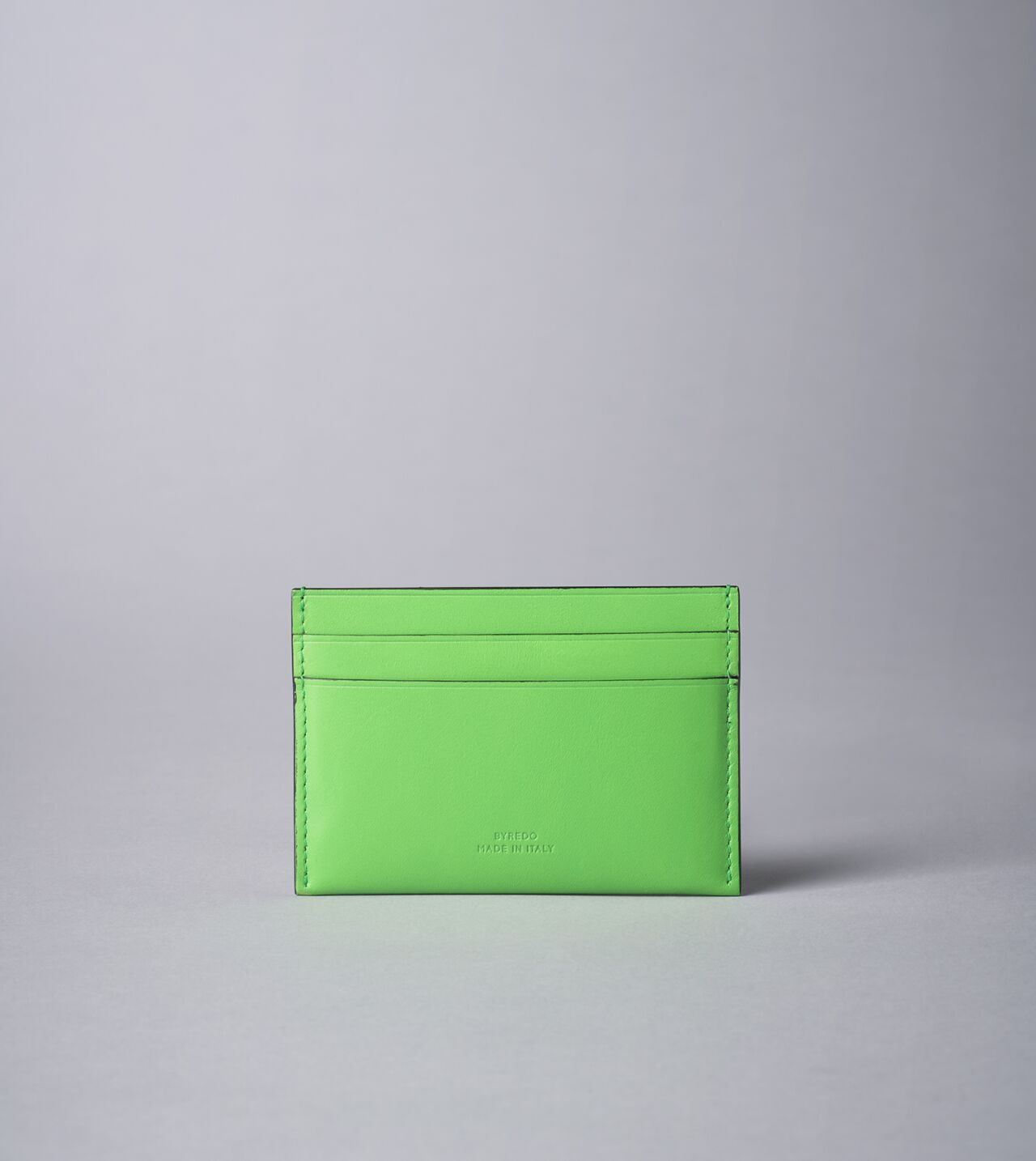 Picture of Byredo Credit card holder in Green leather
