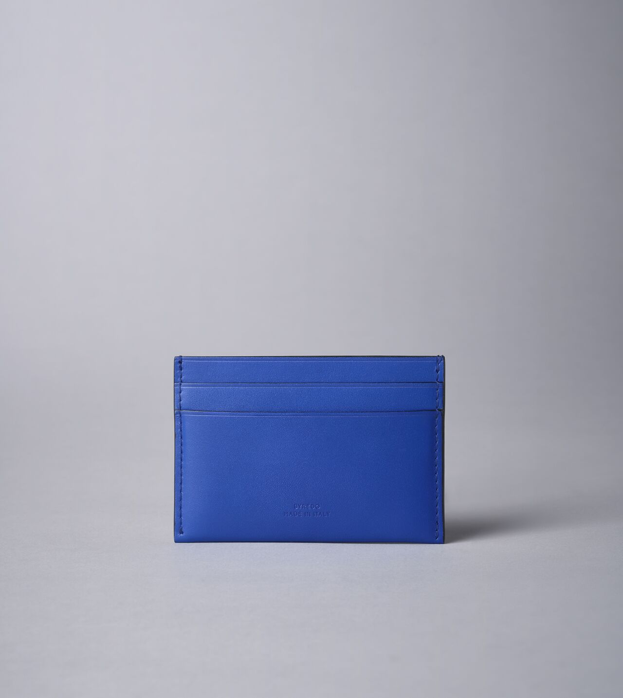 Picture of Byredo Credit card holder in Blue leather