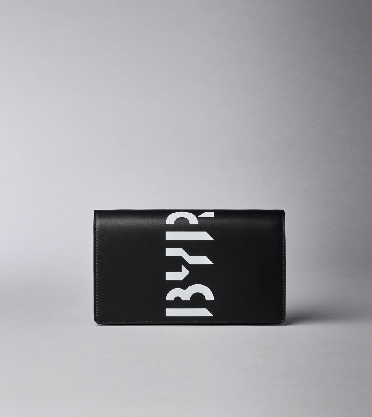 Picture of Byredo Wallet clutch in Black printed leather