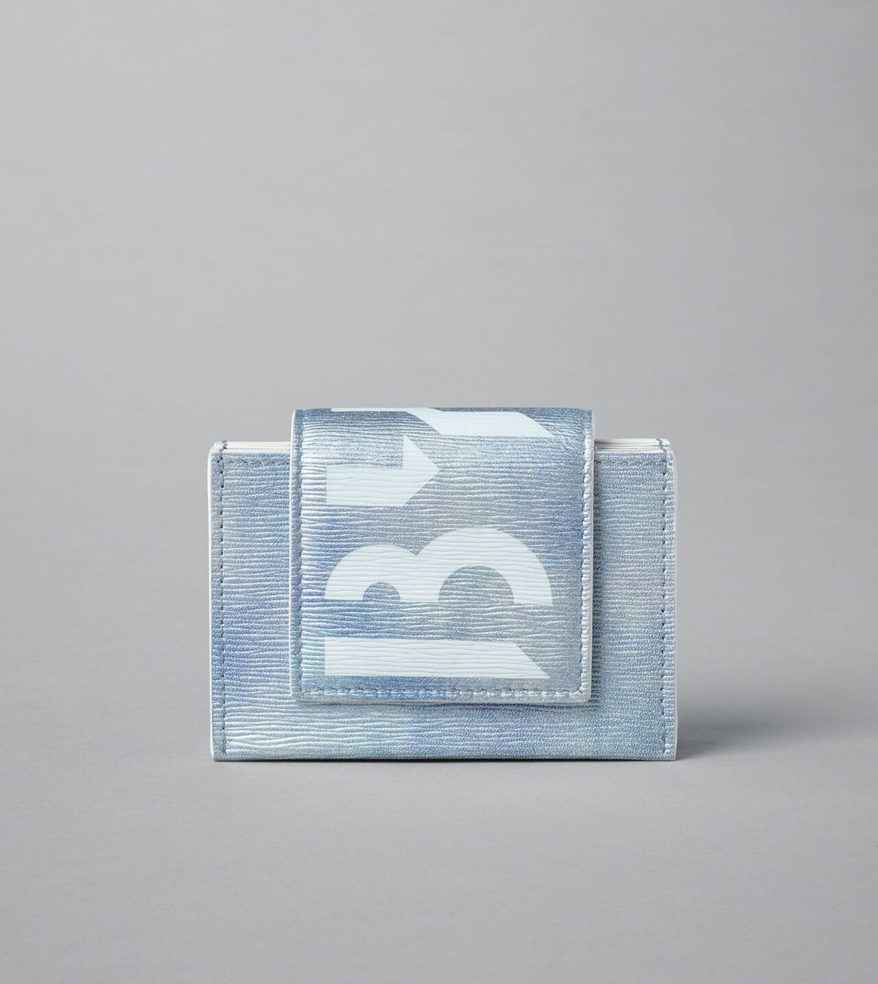 Picture of Byredo Umbrella wallet in Sky Blue White