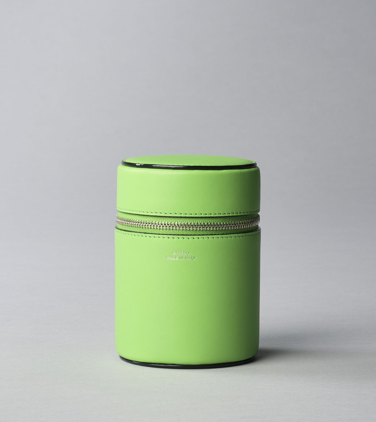Picture of Byredo Candle holder 240g in Green leather