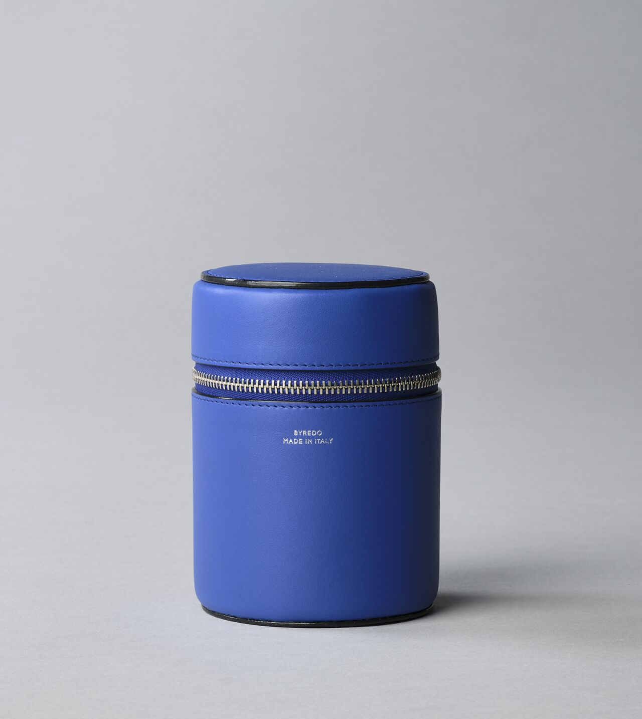 Picture of Byredo Candle holder 240g in Blue leather