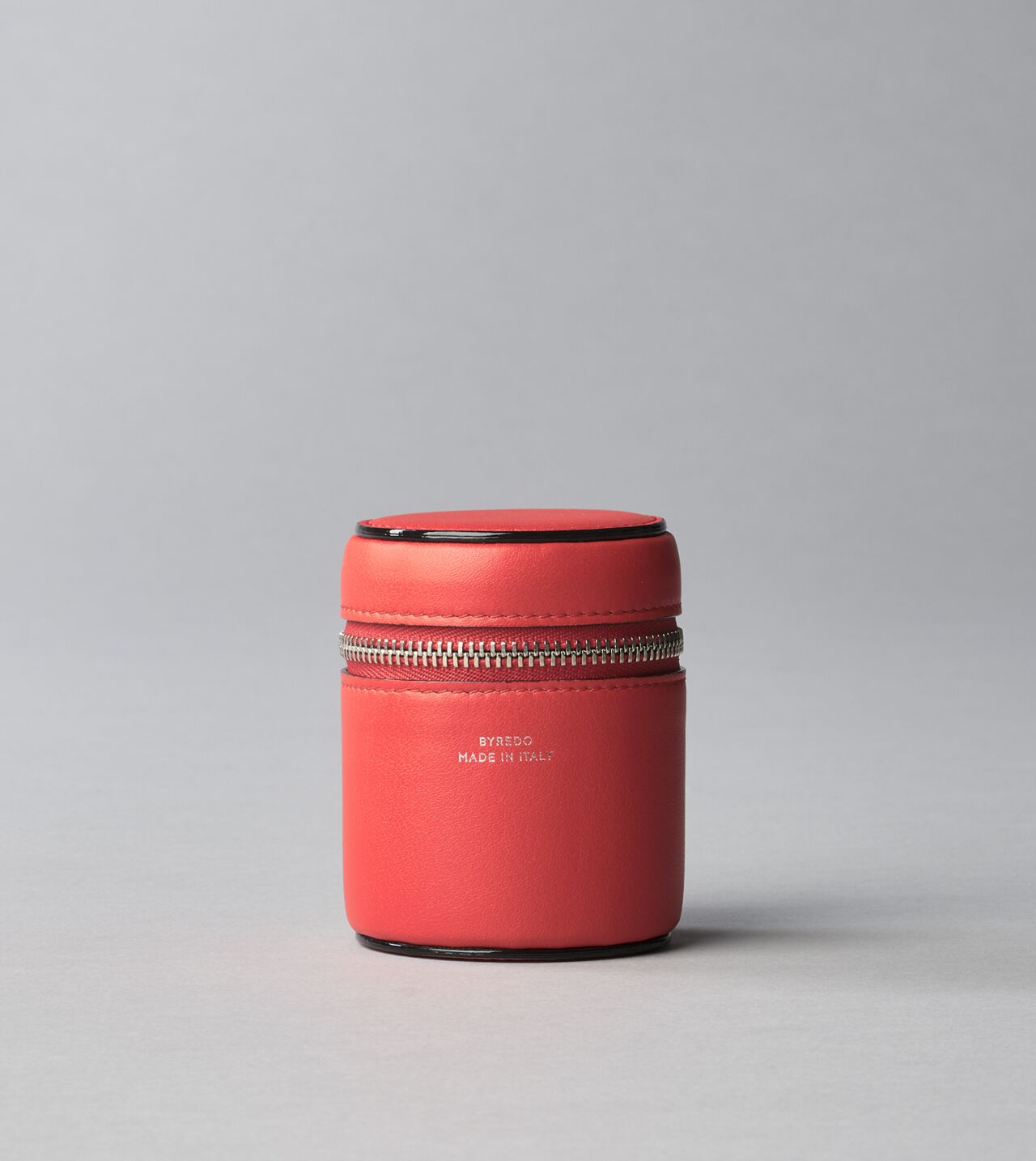 Picture of Byredo Candle holder 70g in Bright red leather
