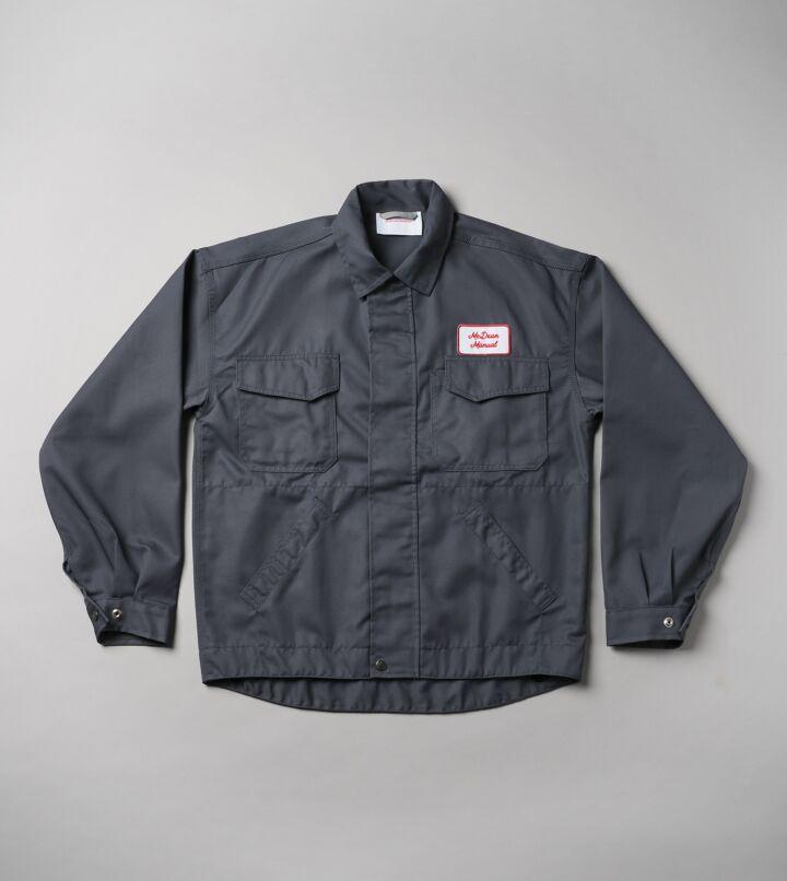 Grey Mechanic Jacket